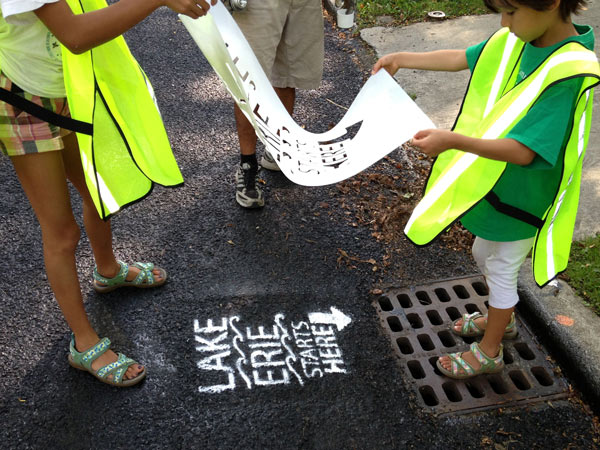 July Storm Drain Stenciling Saturday