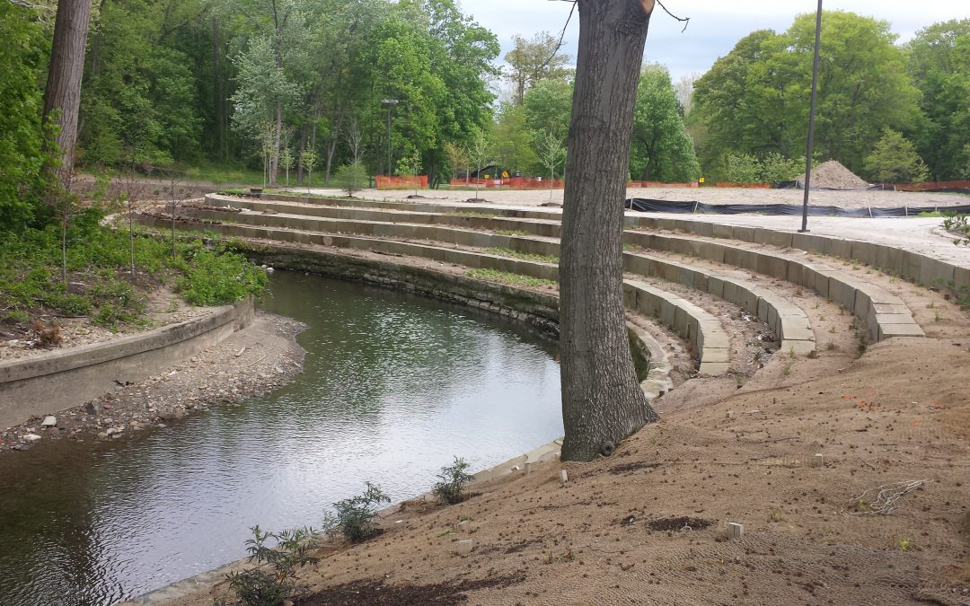 Rockefeller Park Stream Enhancement Project